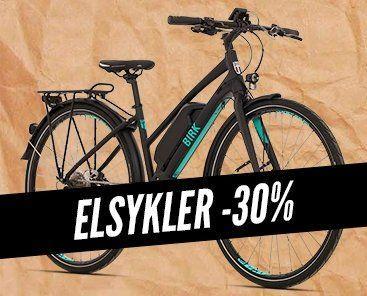 Elsykler -30%