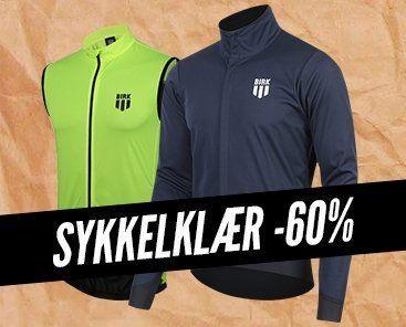 Sykkelklær -60%