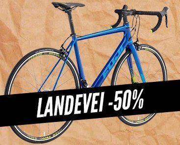 Landeveissykler -50%