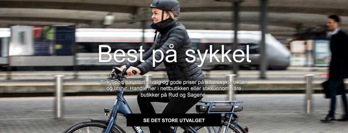 Birk Sport - Best på sykkel